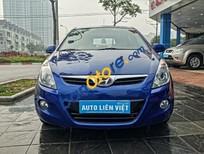 Bán xe Hyundai i20 AT đời 2012, màu xanh lam