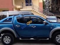 Bán ô tô Mitsubishi Triton GLS 4x4AT sản xuất 2010, màu xanh lam, 420 triệu