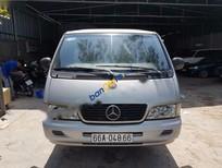 Bán Mercedes MB 100 2003, màu bạc xe gia đình