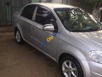 Cần bán gấp Daewoo Gentra sản xuất 2008, màu bạc xe gia đình