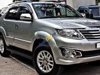 Bán Toyota Fortuner 2.7V 4x2AT đời 2014, màu bạc, giá 870tr