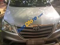 Bán Toyota Innova 2.0E năm sản xuất 2014, màu bạc như mới