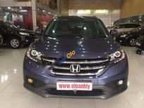 Bán ô tô Honda CR V 2.4 năm 2013, màu xanh lam, 875tr