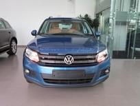 Bán xe Volkswagen Tiguan đời 2016, màu xanh lam, nhập khẩu nguyên chiếc