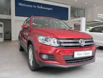 Bán VW Tiguan Nhập Đức chính hãng, Màu đỏ giao ngay, Lái thử miễn phí.