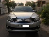 Toyota Fortuner 11/2012, 2.7AT, 1 cầu màu bạc