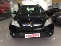 Bán xe Honda CR V sản xuất 2009, màu đen số tự động, 665 triệu