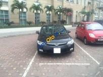 Bán ô tô Honda Civic AT đời 2007, màu đen