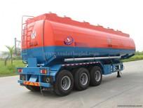 Tổng đại lý phân phối Sơ mi Rơ moóc xi téc 40 khối Doosung chở xăng