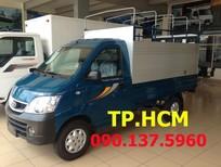 TP. HCM Thaco TOWNER 990 990 KG mới, màu vàng, xe nhập, mui bạt tôn lạnh