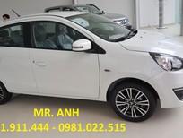 Mitsubishi Đà Nẵng bán Mirage mới, màu trắng, xe nhập, giá 350 tr, hỗ trợ vay 80%-100% LH: 0931911444