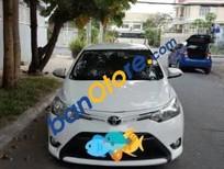 Bán xe cũ Toyota Vios 1.5 E đời 2014, màu trắng xe gia đình