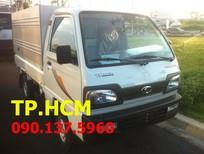 TP. HCM Thaco Towner 800 900 kg mới, màu trắng giá cạnh tranh mui bạt tôn đen
