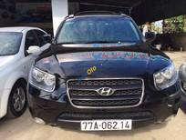 Bán xe Hyundai Santa Fe AT đời 2008, màu đen, nhập khẩu chính hãng
