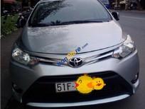Xe Toyota Vios E sản xuất 2015, màu bạc giá cạnh tranh