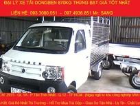 Cần bán xe tải Dongben 810kg thùng bạt, xe tải Dongben 870kg