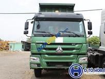 Bán ô tô Howo xe ben sản xuất 2017, nhập khẩu, giá 990tr