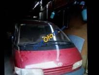 Cần bán xe Toyota Previa sản xuất 1991, màu đỏ chính chủ