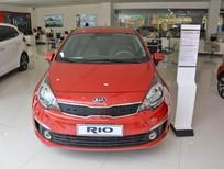Kia Đà Nẵng bán Kia Rio Sedan AT 2017, màu đỏ, xe nhập