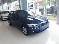 BMW 1 Series 118i 2017, màu xanh lam, nhập khẩu nguyên chiếc. Bán xe BMW chính hãng tại Hà Tĩnh