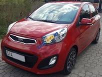 Mình cần bán xe Kia Morning AT năm 2014, màu đỏ