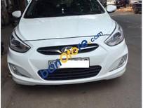 Bán Hyundai Accent Blue đời 2014, màu trắng số tự động, giá chỉ 520 triệu