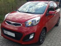 Bán Kia Morning S, số tự động 2014, màu đỏ, xe sử dụng gia đình