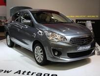 Xe Attrage màu xám số tự động Quảng Nam, Giá xe Attrage CVT 2017 Quảng Nam