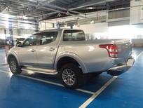 Cần bán xe Mitsubishi Triton đời 2017, màu bạc, ở Quảng Trị, hỗ trợ vay 80%. Thủ tục đơn giản. LH: 0905.91.01.99