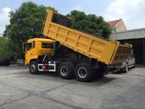 Xe ben tự đổ Dongfeng nhập khẩu 4 chân 13 tấn