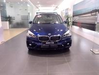 Bán BMW 2 Series 218i Gran Tourer 7 chỗ, màu xanh lam, nhập khẩu nguyên chiếc
