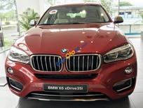 Bán BMW X6 xDrive 35i sản xuất năm 2017, màu đỏ, nhập khẩu nguyên chiếc