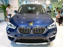 Bán xe BMW X1 sDrive18i năm sản xuất 2017, màu xanh lam, nhập khẩu nguyên chiếc