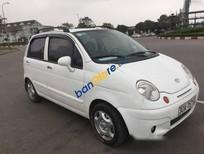 Lên đời cần bán gấp Daewoo Matiz MT đời 2008, màu trắng