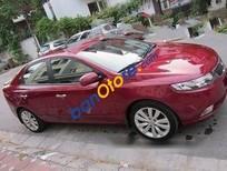 Tôi cần bán xe Kia Cerato AT đời 2011, màu đỏ, giá 525tr