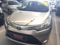 Cần bán gấp Toyota Vios 1.5E sản xuất năm 2015, màu bạc