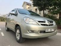 Cần bán xe Toyota Innova 2.0G đời 2007, màu bạc, nhập khẩu chính hãng, chính chủ, 395 triệu