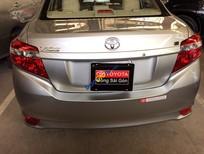 Cần bán gấp Toyota Vios E MT năm 2015, màu bạc