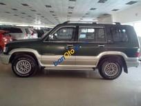 Bán xe Isuzu Trooper đời 2002, màu xanh