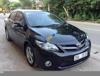Cần bán Toyota Corolla altis 2.0 sản xuất 2011, màu đen chính chủ