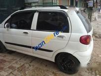 Cần bán lại xe Daewoo Matiz MT sản xuất 2004, màu trắng đã đi 95000 km