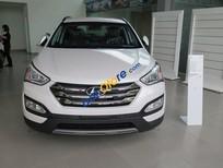 Cần bán xe Hyundai Santa Fe CRDi năm sản xuất 2017, màu trắng