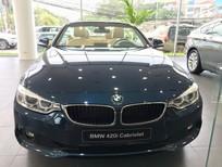 Bán ô tô BMW 4 Series 420i Convertible 2017, màu xanh lam, nhập khẩu
