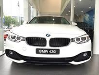 Bán BMW 4 Series 420i Coupe 2017, màu trắng, nhập khẩu, BMW chính hãng, giá tốt nhất tại Gia Lai