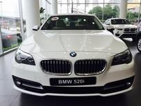Bán xe BMW 5 Series 520i 2017, màu trắng, xe nhập, giá rẻ nhất, giao xe ngay, hỗ trợ trả góp