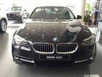 Bán xe BMW 5 Series 520i 2017, màu đen, xe nhập, giao xe ngay, ưu đãi cực lớn