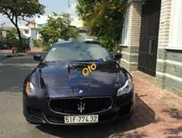 Bán xe cũ Maserati Quatroporte 3.0 đời 2016, màu xanh