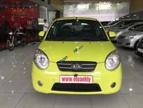Cần bán lại xe Kia Morning sản xuất 2009, màu vàng