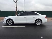 Bán xe Audi A4 1.8 AT 2009, màu trắng, xe nhập khẩu bản full, biển HN