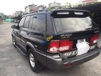 Cần bán lại xe Ssangyong Musso đời 2005, màu đen, xe nhập xe gia đình